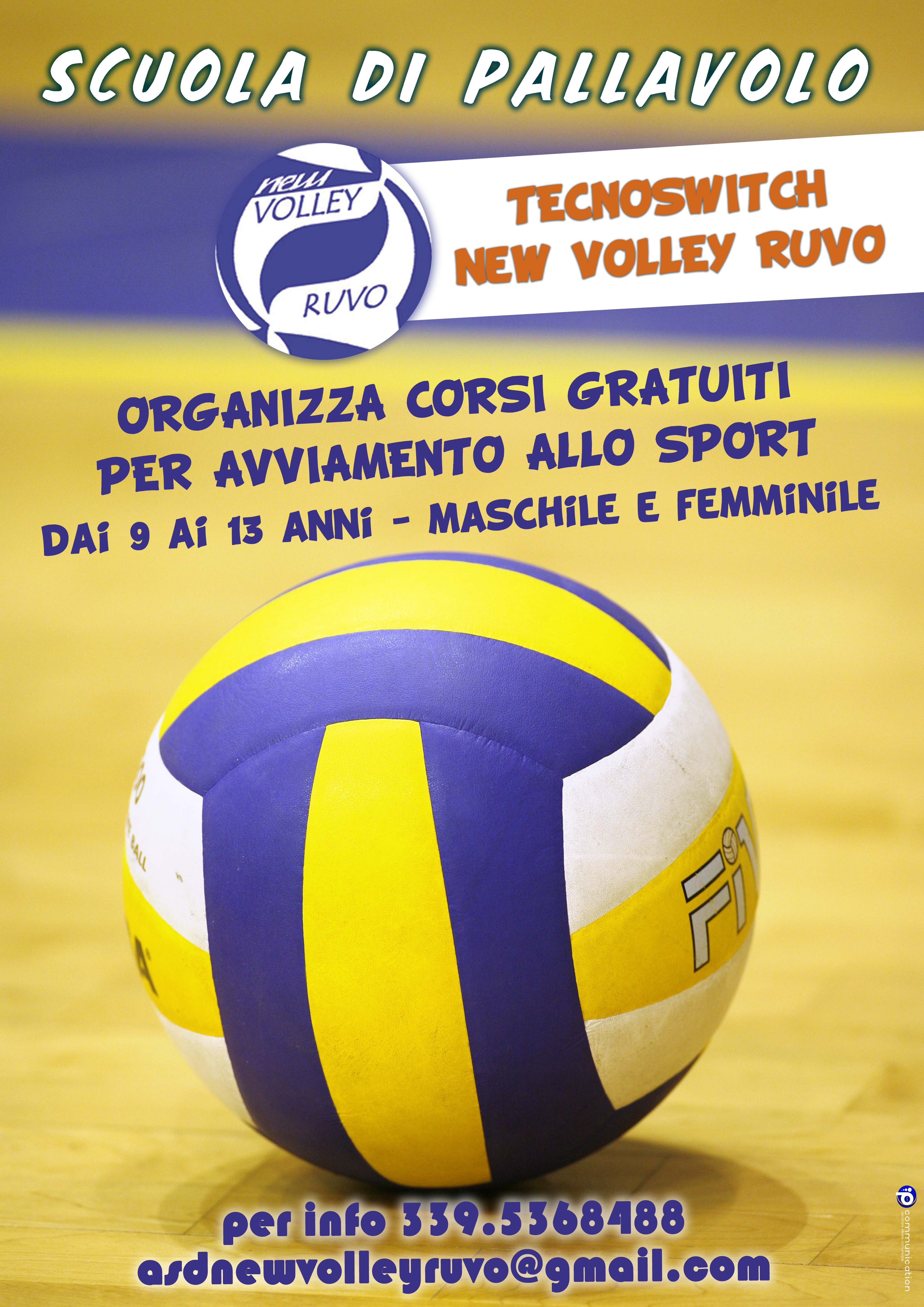 TECNOSWITCH NEW VOLLEY RUVO