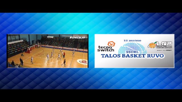 LIVE - TecnoSwitch Talos Basket Ruvo vs Silva Group Basket Scauri