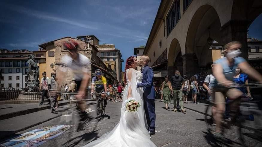 Elisabetta e Michael sposi a Firenze