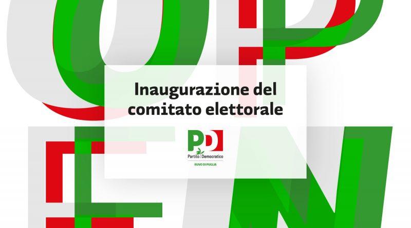 inaugurazione comitato elettorale PD