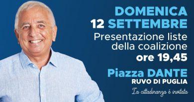 Presentazione liste Luciano Lorusso